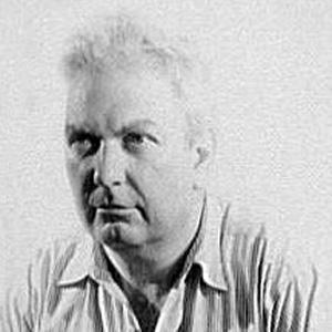 Sculptor Alexander Calder - age: 78