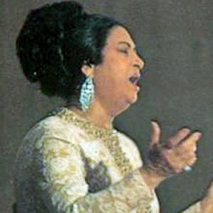 World Music Singer Umm Kulthum - age: 76