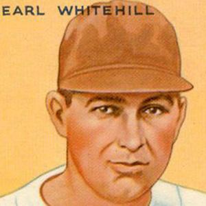 baseball player Earl Whitehill - age: 55