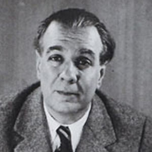 Novelist Jorge Luis Borges - age: 86
