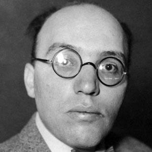 Composer Kurt Weill - age: 50