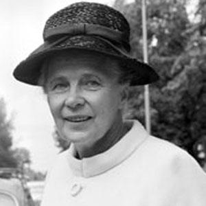Politician Alva Myrdal - age: 84