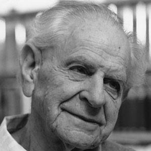 Philosopher Karl Popper - age: 92