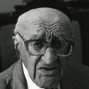 Philosopher Yeshayahu Leibowitz - age: 91