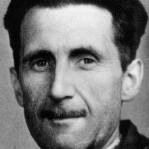 Novelist George Orwell - age: 46