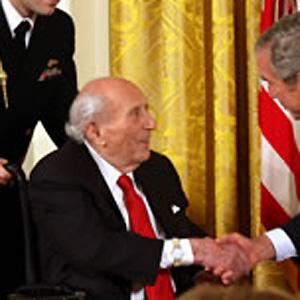 Entrepreneur Roy Neuberger - age: 107