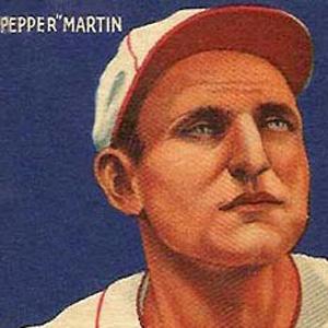 baseball player Pepper Martin - age: 61