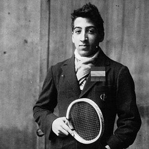 Male Tennis Player Rene Lacoste - age: 92