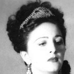 Opera Singer Zinka Milanov - age: 83