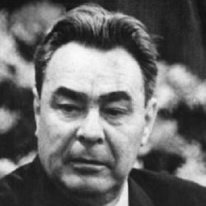 World Leader Leonid Brezhnev - age: 75