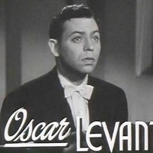 Pianist Oscar Levant - age: 65