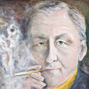 Novelist Ian Fleming - age: 56