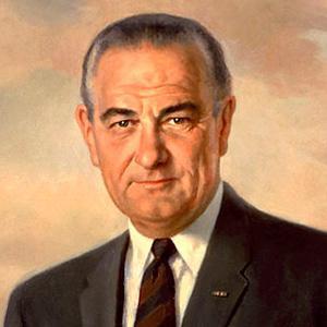 US President Lyndon B. Johnson - age: 64