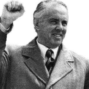 Enver Hoxha - age: 76
