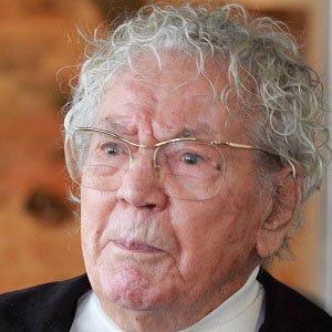 Painter Hans Erni - age: 106