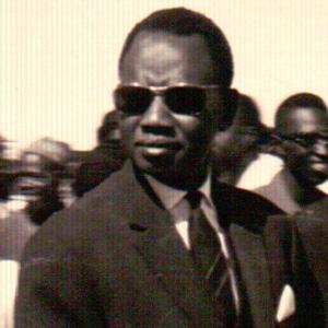 Politician Mamadou Dia - age: 98