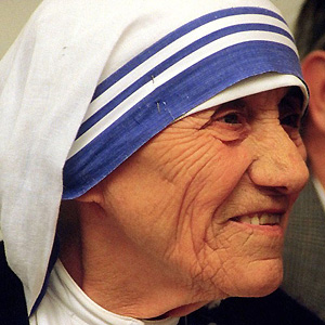 Religious Leader Mother Teresa - age: 87