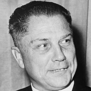 Politician Jimmy Hoffa - age: 69