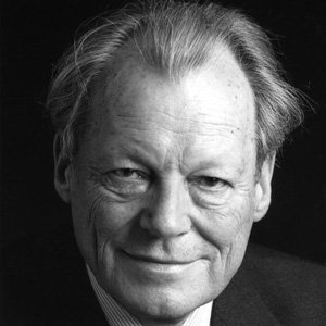 Politician Willy Brandt - age: 78