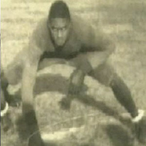 Football player Woody Strode - age: 80