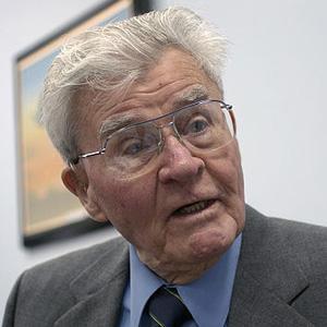 Pilot Paul Tibbets - age: 92