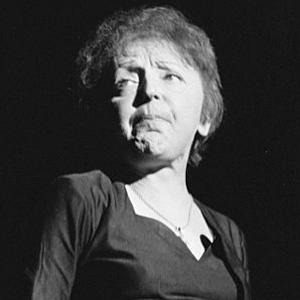 Pop Singer Edith Piaf - age: 47