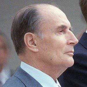 World Leader Francois Mitterrand - age: 79