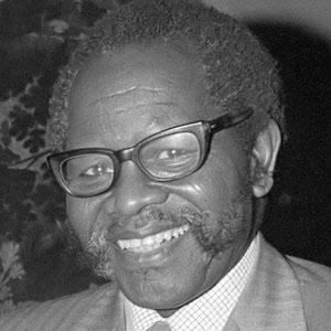Politician Oliver Tambo - age: 75