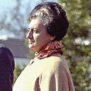Politician Indira Gandhi - age: 66