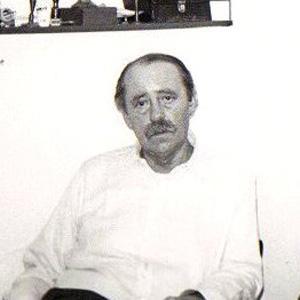 Novelist Heinrich Boll - age: 67