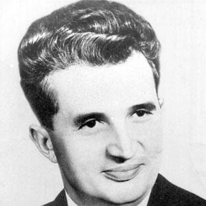 Politician Nicolae Ceausescu - age: 71