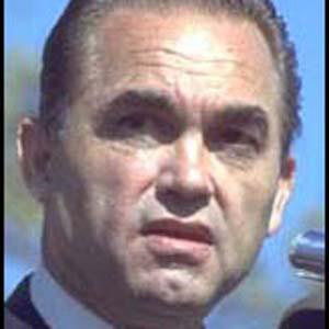 Politician George Wallace - age: 79