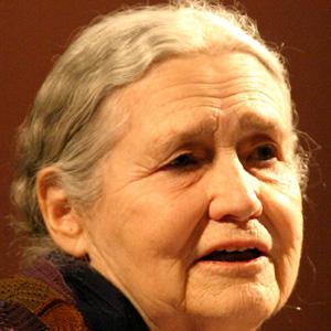 Novelist Doris Lessing - age: 94