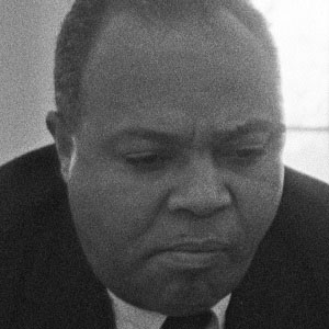 Civil Rights Leader James L Farmer Jr - age: 79