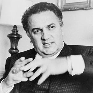 Director Federico Fellini - age: 73