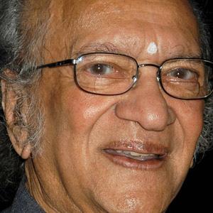 Composer Ravi Shankar - age: 92