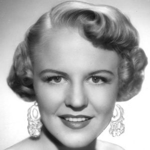 Jazz Singer Peggy Lee - age: 81