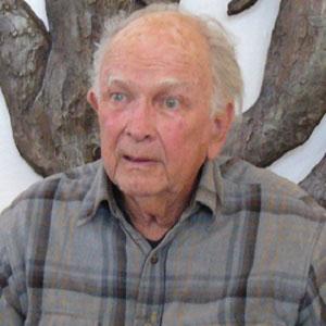 Sculptor John Henry Waddell - age: 99