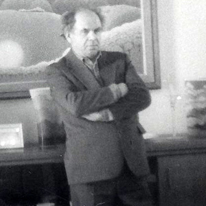 Painter Ivan Rabuzin - age: 87