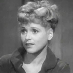 Movie actress Judy Holliday - age: 43