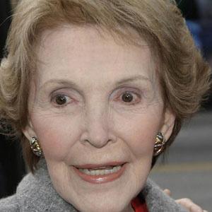 Political Wife Nancy Reagan - age: 95