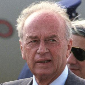 World Leader Yitzhak Rabin - age: 73