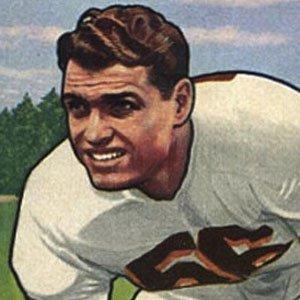Football player Dante Lavelli - age: 85