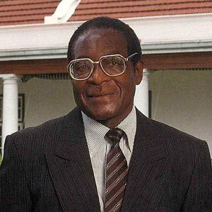 World Leader Robert Mugabe - age: 93