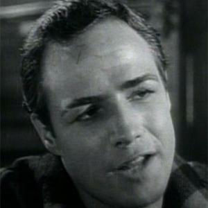 Movie Actor Marlon Brando - age: 80