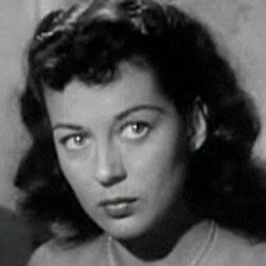 Movie actress Gail Russell - age: 36