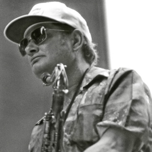 Saxophonist Zoot Sims - age: 59