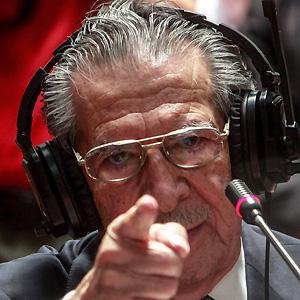 Politician Efrain Rios Montt - age: 94