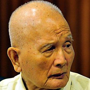 Politician Nuon Chea - age: 94