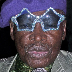 Comedian Rudy Ray Moore - age: 81